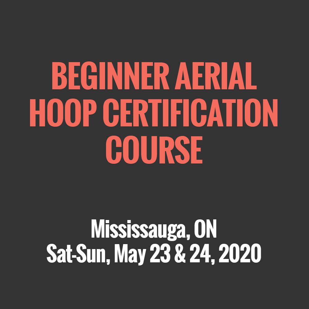 Beginner Aerial Hoop Certification Course