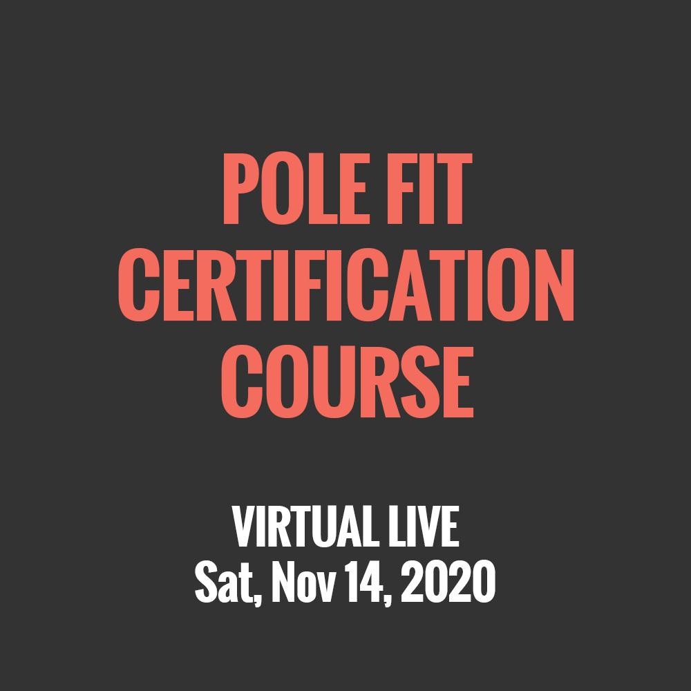 Virtual Live Pole Fit Certification Course