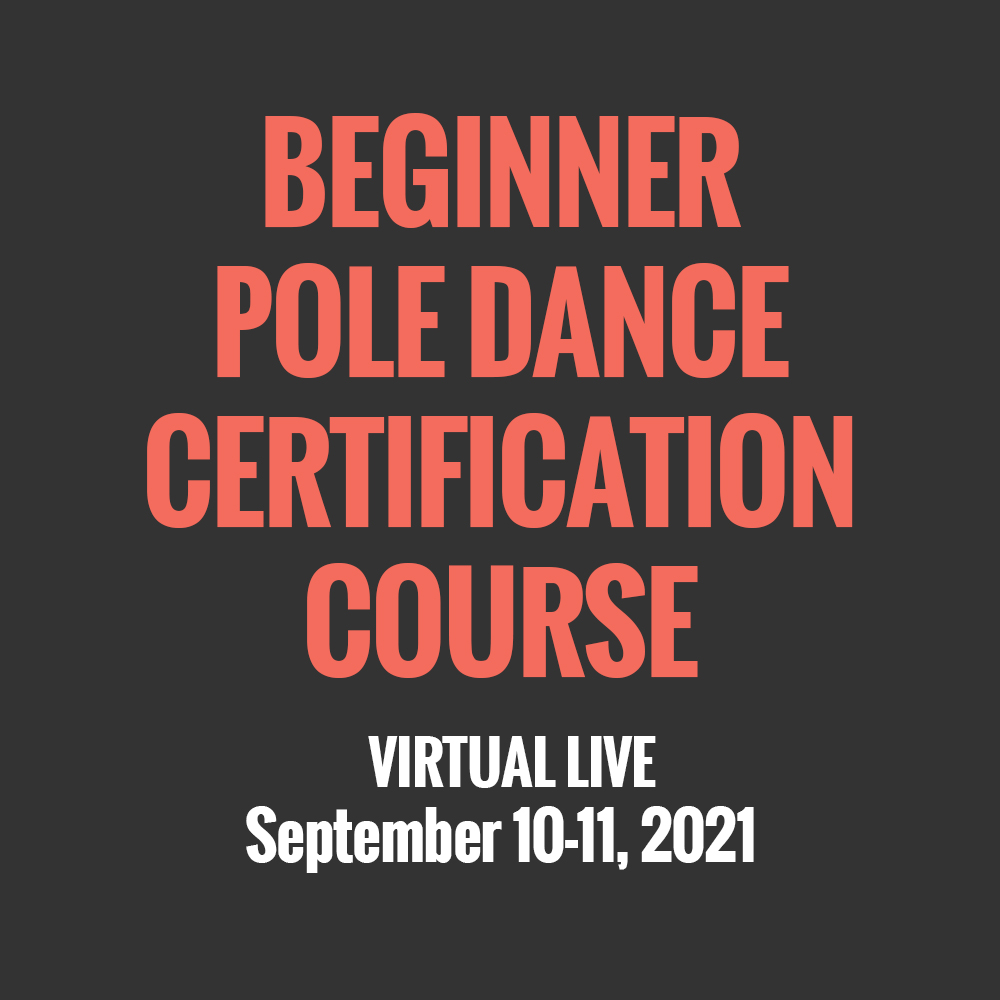 Beginner Pole Dance Certification Course